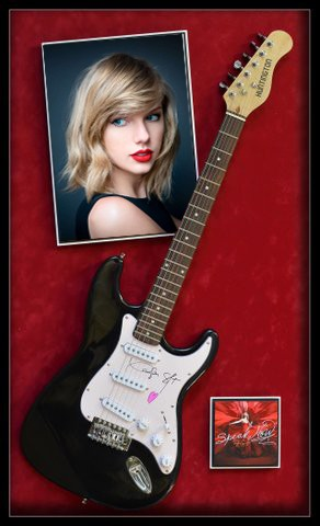 "Taylor Swift  ""Red - New- Guitar"""